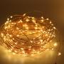 LED-valgustraat, kuldne, 2 m