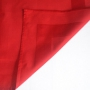 Servjett 50x50 cm punane, satiin ruuduga